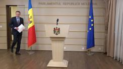 Declarațiile lui Andrian Candu înainte de ședința Parlamentului Republicii Moldova din 23 martie 2018