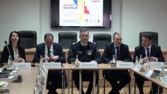 """Evenimentul de lansare a proiectului """"Consolidarea capacităților Republicii Moldova de combatere a traficului de ființe umane"""" implementat de IGP în cooperare cu Centrul Internațional pentru Dezvoltarea Politicilor de Migrație din cadrul Parteneriatul de Mobilitate UE – Moldova"""
