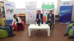 """HuB Electoral 2.0 cu tema """"Implicarea tinerilor în procesul electoral: alegerile parlamentare 2018"""". Invitat: Dr. Iurie Ciocan, membrul Comisiei Electorale Centrale"""