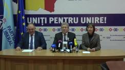 """Conferință de presă susținută de deputații Partidului Liberal cu tema """"Unirea și Partidul Democrat"""""""