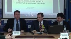 """Masa rotundă organizată de IDIS Viitorul cu tema """"Riscurile de securitate din partea trupelor ruse din regiunea transnistreană la adresa Republicii Moldova"""""""