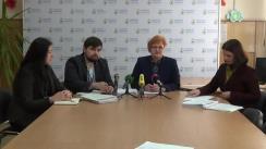 """Conferință de presă Avocatul Poporului pentru drepturile copilului, Maia Bănărescu, cu tema """"Abuzului sexual asupra minorilor aflați în detenție"""""""