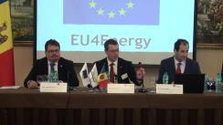 Prima conferință la nivel înalt privind eficiența energetică organizată sub auspiciile Proiectului UE pentru Guvernanță Energetică