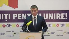 """Conferință de presă organizată de Partidul Liberal cu tema """"Silvia Radu a fost recunoscută oficial drept uzurpatoare. Binomul Plahotniuc-Dodon a aruncat Chișinăul în haos"""""""