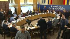 Ședința extraordinară a Consiliului Local Cluj-Napoca din 29 martie 2018