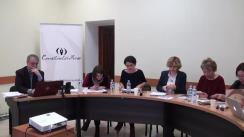 Ședința Consiliului de presă din 30 martie 2018