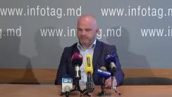 """Conferință de presă susținută de avocații Iulian Rusanovschi și Eduard Rudenco cu tema """"Cum regimul persecută avocații incomozi. Detalii noi despre cazul Anei Ursachi și Eduard Rudenco"""""""
