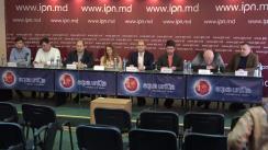 """Conferința de presă cu tema """"Sergiu Tofilat candidează independent pentru Primăria Chișinău"""""""