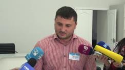 Declarație de presă susținută de secretarul Consiliul electoral de circumscripție electorală municipal Chișinău nr. 1, Miron Vitalie