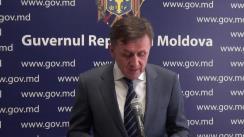 Declarațiile lui Iurie Ciocan după ședința Guvernului Republicii Moldova din 4 aprilie 2018