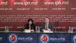 """Conferința de presă organizată de Asociația Obșteasca """"Vesta"""" (Găgăuzia) cu tema """"Drepturile victimelor violenței în familie: teorie și practică"""""""