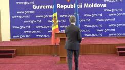 Conferință de presă susținută de viceprim-ministrul pentru Integrare Europeană, Iurie Leancă, cu privire la rezultatele vizitei de lucru efectuată în Bulgaria, în perioada 4-5 aprilie curent