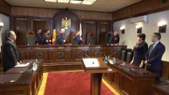 Pronunțarea avizului privind modificarea articolelor 50 și 51 din Constituția Republicii Moldova