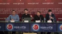 """Conferința de presă organizată de Alianța pentru Centenar cu tema """"Spuneți DA Unirii cu România!"""""""