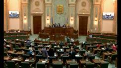 Ședința în plen a Senatului României din 10 aprilie 2018
