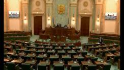 Ședința în plen a Senatului României din 11 aprilie 2018