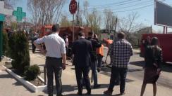 Primarul general interimar al municipiului Chișinău, Silvia Radu, inspectează în teren lucrările de reparație a străzilor din municipiul Chișinău