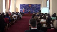 """Premierea câștigătorilor Concursului republican pentru elevi """"Limba noastră–i o comoară"""""""