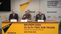 """Conferință de presă cu tema """"Cum în Republica Moldova se va sărbători Ziua Victoriei"""""""