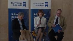 """Dezbaterea organizată de Platforma România 100 cu titlul """"Schimbăm România prin educație. La centenar, pe drumul European"""""""