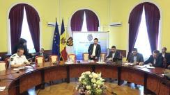 Ședința săptămânală a serviciilor primăriei Chișinău din 17 aprilie 2018
