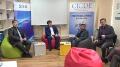 """Platforma electorală de discuții cu tema """"Înregistrarea alegătorilor: experiența internațională"""""""