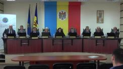 Ședința Comisiei Electorale Centrale din 17 aprilie 2018