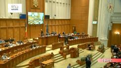 Ședința în plen a Camerei Deputaților României din 16 aprilie 2018