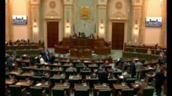 Ședința în plen a Senatului României din 16 aprilie 2018