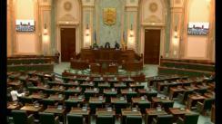 Ședința în plen a Senatului României din 18 aprilie 2018