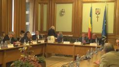 Dezbatere organizată de Comisia pentru transporturi și infrastructură cu reprezentanți ai Ministerului Transporturilor, conducerea Companiei Naționale Aeroporturi București și ai Autorității Aeronautice Civile Române
