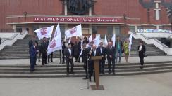 Conferința de lansare a candidatului Partidului Unității Naționale în alegerile locale pentru Primăria municipiului Bălți