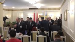 Conferință de presă susținută de Președintele Republicii Moldova, Igor Dodon, și Președintele Republicii Belarus, Alexandr Lukașenko