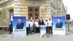 Lansarea în campania electorală a candidatului Partidului Liberal la funcția de Primar General al municipiului Chișinău, Valeriu Munteanu