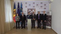 """Conferință de presă organizată de Partidul Platforma Demnitate și Adevăr cu tema """"Chișinăul spune NU știrilor false"""""""