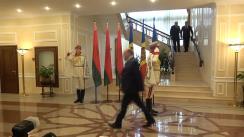 Întrevederea în format lărgit a delegațiilor Republicii Belarus și Republicii Moldova