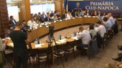 Ședința Consiliului Local Cluj-Napoca 18 aprilie 2018
