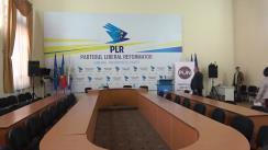 Conferința de presă organizată de Partidul Liberal Reformator de anunțare a deciziei oficiale a formațiunii de acordare a sprijinului politic unui candidat în alegerile anticipate ale primarului General al Municipiului Chișinău din 20 mai 2018