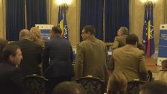 Lansarea Programului Național modular pentru ridicarea nivelului profesional al cadrelor medicale din sistemul național de apărare, ordine publică și siguranță națională