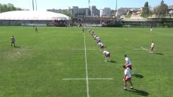 Meciul de Rugby între CS Dinamo București - CS Universitatea Cluj. Superliga CECBank 2017-2018