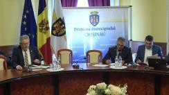 Ședința săptămânală a serviciilor primăriei Chișinău din 23 aprilie 2018