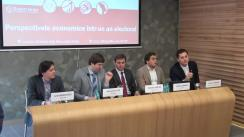 """Conferința MEGA, ediția a XVIII-a. Tema """"Perspectivele economice într-un an electoral"""""""
