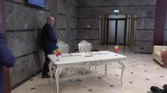 Briefing susținut de Președintele Comisiei securitate națională, apărare și ordine publică din Parlamentul Republicii Moldova, Roman Boțan, și Președintele Comisiei pentru apărare, ordine publică și siguranță națională a Camerei Deputaților din Parlamentul României, Dorel-Gheorghe Căprar