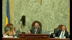 Ședința în plen a Senatului României din 23 aprilie 2018