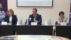 Briefing de presă cu ocazia Zilei Internaționale a Cărții și a Dreptului de Autor, a Zilei Bibliotecarului