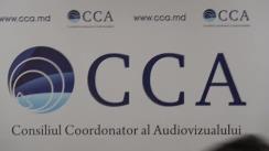 Ședința Consiliului Coordonator al Audiovizualului din 24 aprilie 2018