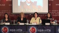 """Conferință de presă organizată de Alianța ONG-lor active în domeniul Protecției Sociale a Copilului și Familiei cu tema """"Lansarea celei de-a V-a ediții a Săptămânii Globale de Acțiune pentru Educație (GAWE)"""""""