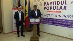 Lansarea candidatului Partidului Popular din Republica Moldova pentru funcția de primar general al municipiului Chișinău, Maxim Brăila