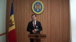 Declarațiile lui Chiril Gaburici după ședința Guvernului Republicii Moldova din 25 aprilie 2018