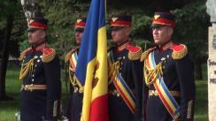 Ceremonia militar-protocolară de arborare a Drapelului de Stat, cu ocazia Zilei Drapelului de Stat al Republicii Moldova